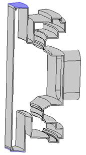 真空容器的结构模型。