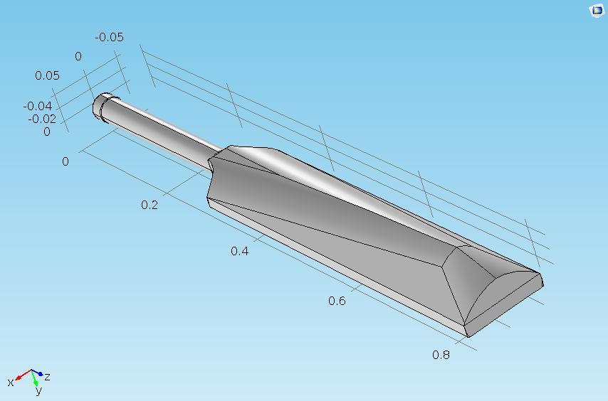借助模型背面图确认球板的甜区。