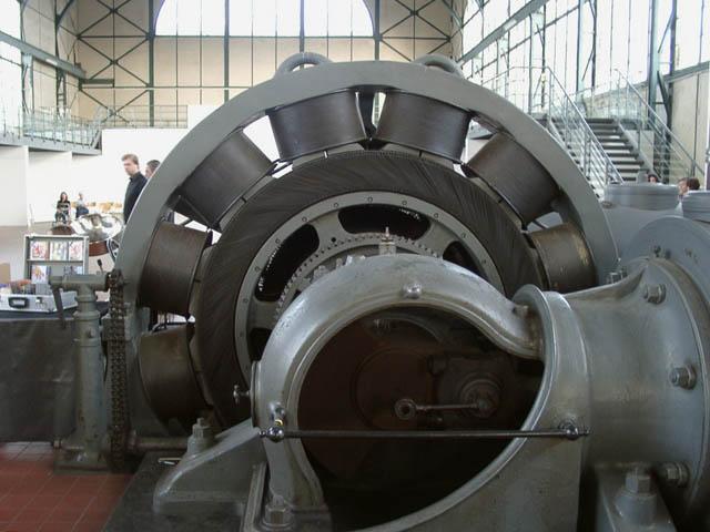 发电机图片。