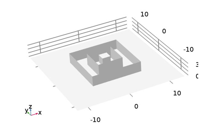 3D geometry 使用 App 分析电气设备的外部电场