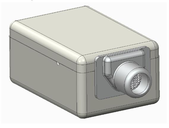 Knowles ED-23146平衡电枢接收器的示意图。