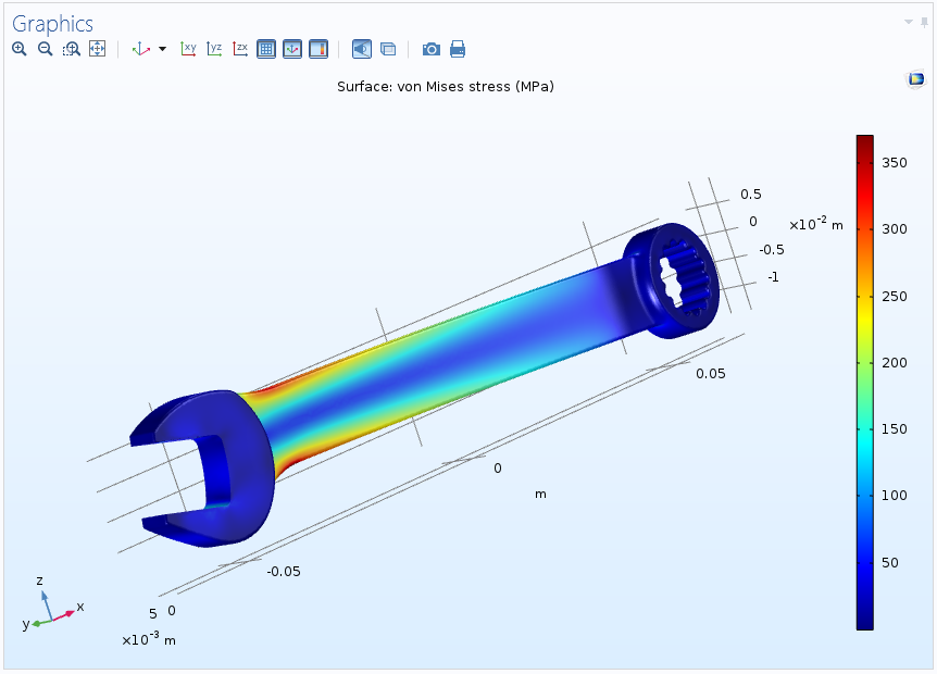 wrench without a bolt 如何在 COMSOL Multiphysics® 中管理多个解