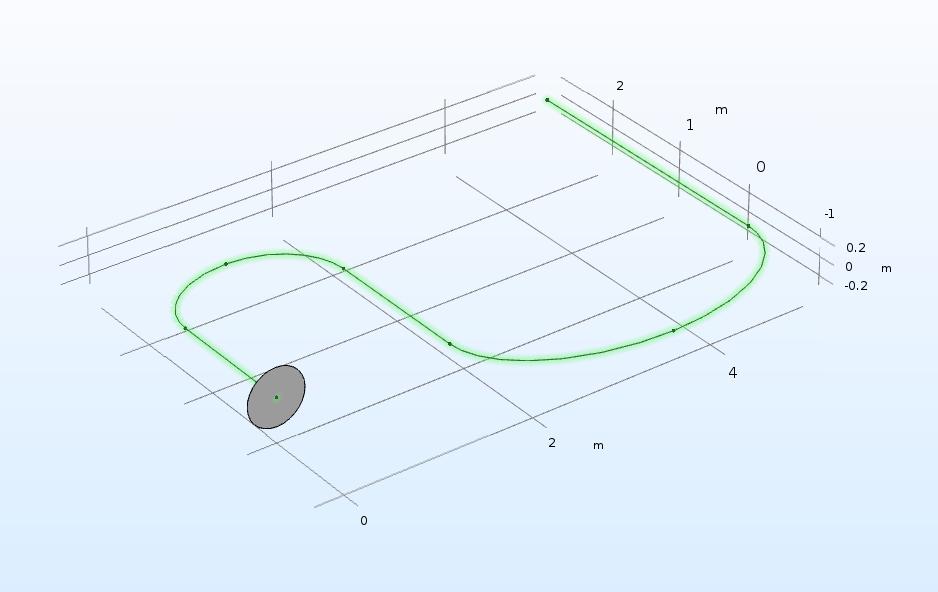 在 COMSOL Multiphysics 中使用扫描操作的演示。