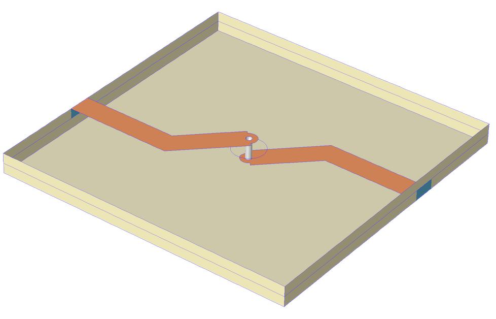 高斯连接的简单原理图。
