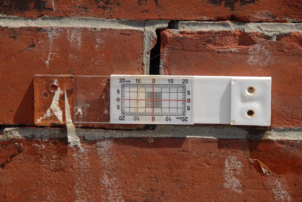 用于监测灯塔结构的应变计示意图