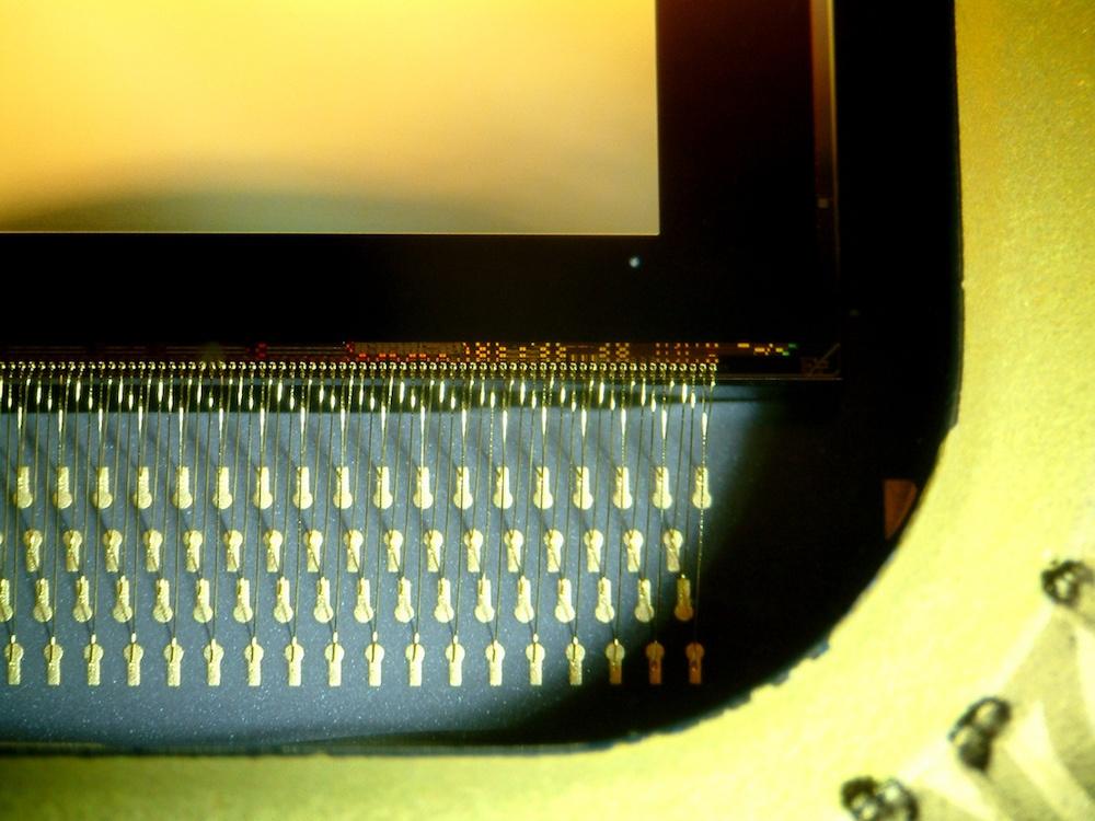 微镜芯片图片。