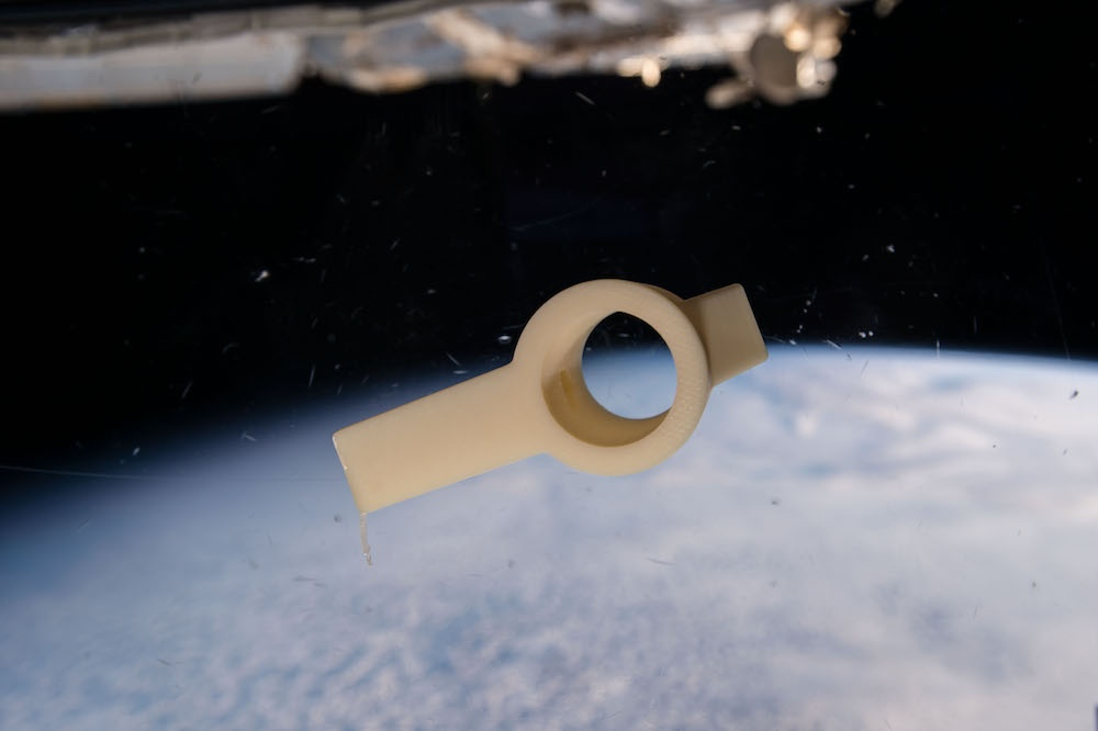 An image of a customized component for aerospace applications. 用于航空航天应用的定制组件的图片。