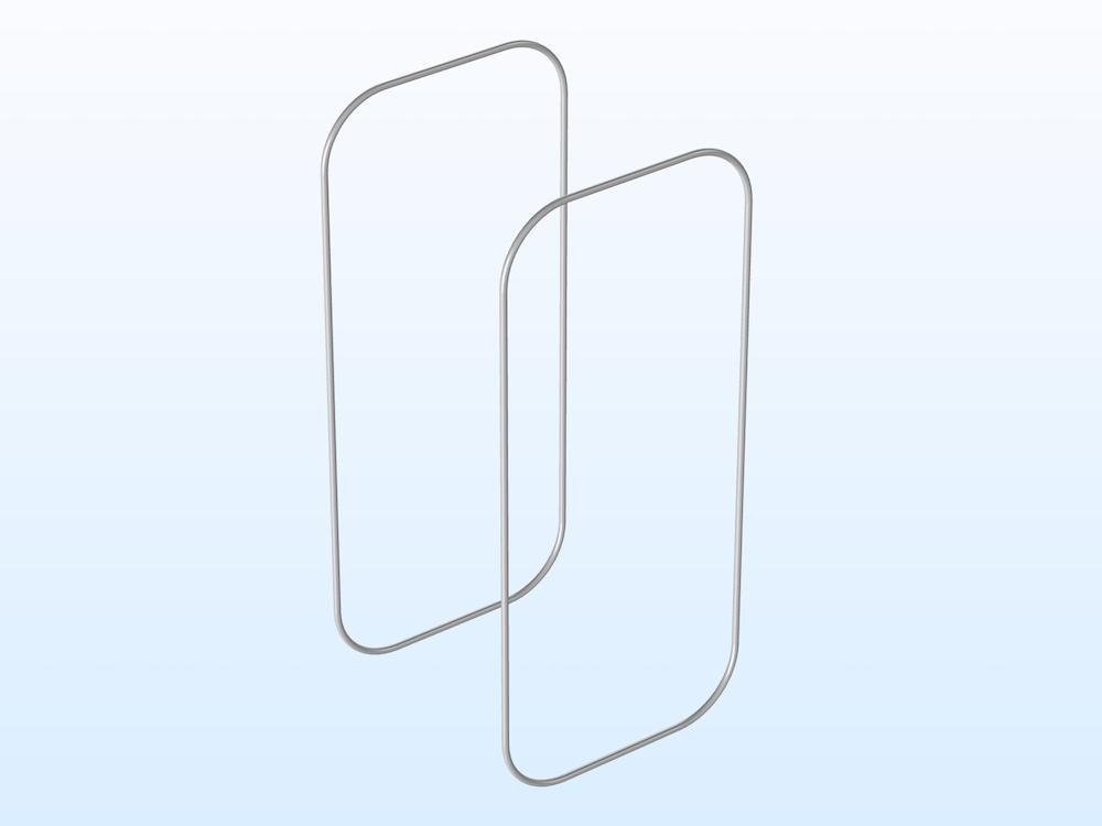 RFID 读写器的几何。