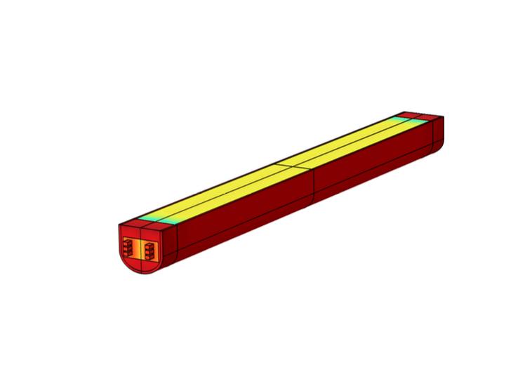 石墨化炉的模型