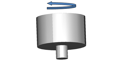 An image showing the geometry of the welding tool. 显示焊接工具几何结构的图片。