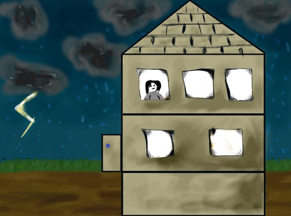 房屋建筑围护结构插图。