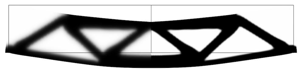 过滤区域与投影区域的对比图