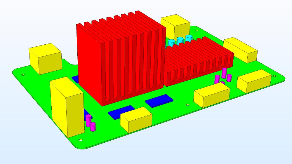 具有颜色编码组件的母板几何图形的图像。