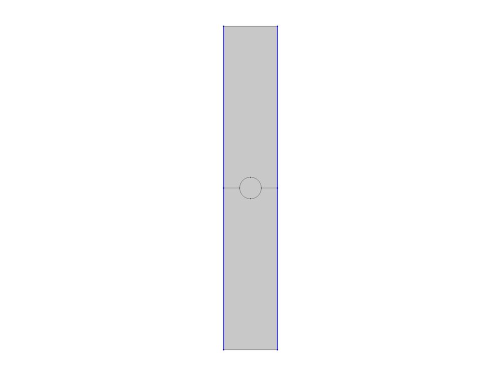 表面等离激元线光栅模型中使用的周期性边界条件。