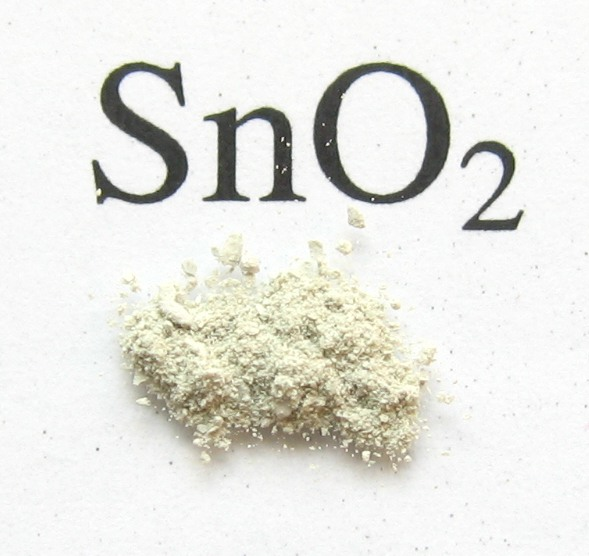 A photograph of tin oxide in its mineral form, which supposedly makes lip gloss defy gravity.