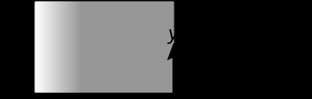 具有电子的简单片状电子束的示意图,该电子仅在一个区域中流动而没有电荷。