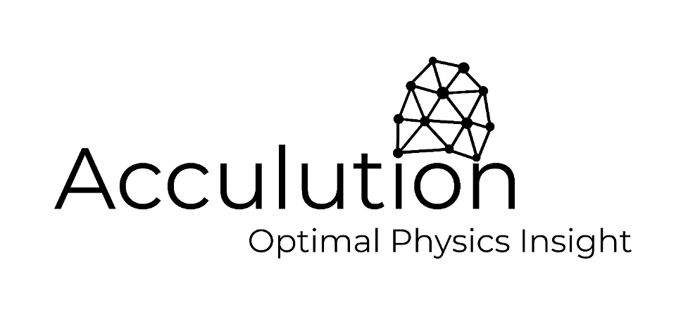 The logo for Acculution ApS, a COMSOL Certified Consultant.