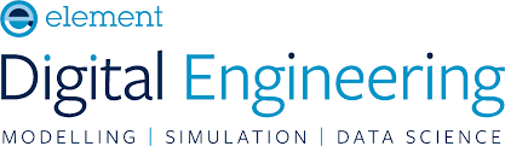 The logo for Element Digital Engineering, a COMSOL Certified Consultant.