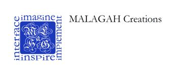An image of the Malagah Creations™ logo.