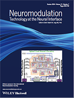 A visual of the Neuromodulation journal.