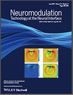 A picture of the Neuromodulation journal, which features Arle Lab/Harvard Medical School.