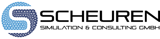 The Scheuren Simulation & Consulting logo.