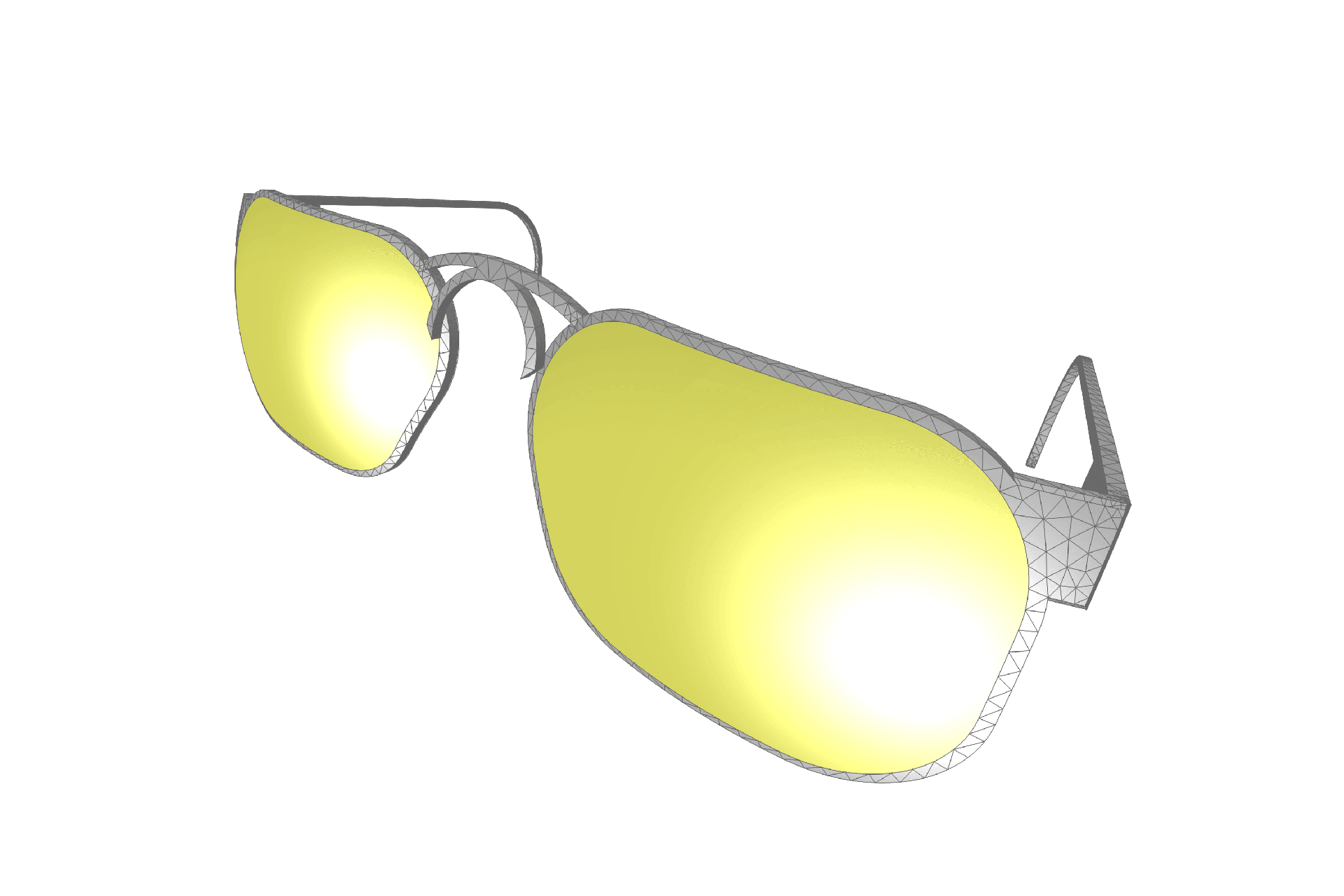 spectrum sunglasses simulation