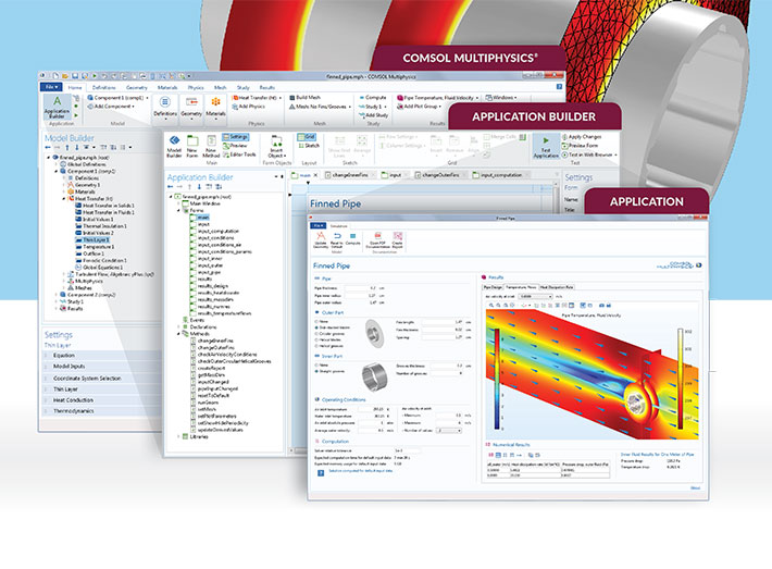 - COMSOL Multiphysics®