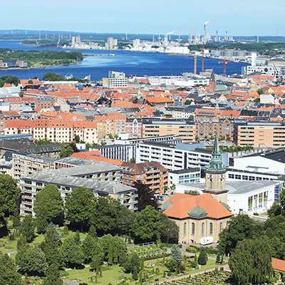 Aalborg, Denmark Landmark