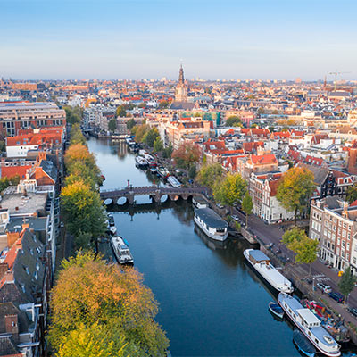 Amsterdam, Netherlands Landmark