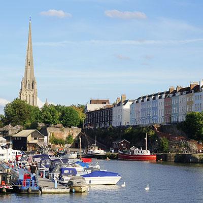 Bristol, UK Landmark