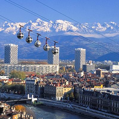 Grenoble, France Landmark
