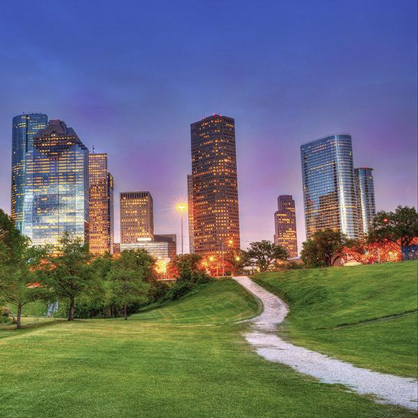 Houston, Texas, USA Landmark