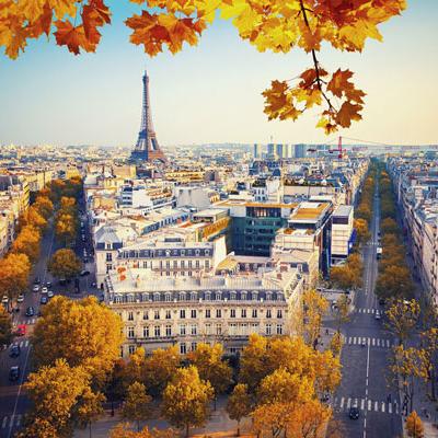 Paris, France Landmark