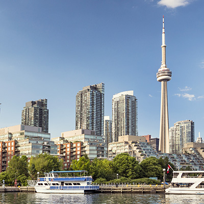 Toronto, Ontario, Canada Landmark