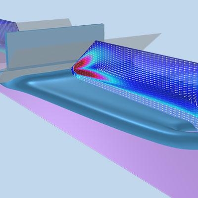 Polymer flow model