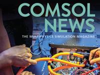 2019年COMSOL新闻的顶部杂志封面。