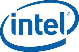 An image of the Intel logo.