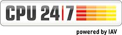 The CPU 24/7 logo