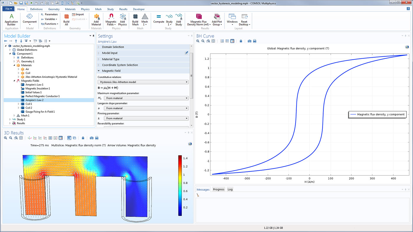 Software For Simulating Static And Low Frequency Electromagnetics Capture Simulation Of Electrical Circuits The Actual An Example Using Equation Based Modeling With Ac Dc Module To Include