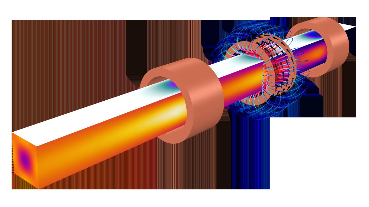 Software zur Simulation statischer und niederfrequenter Elektromagnetik