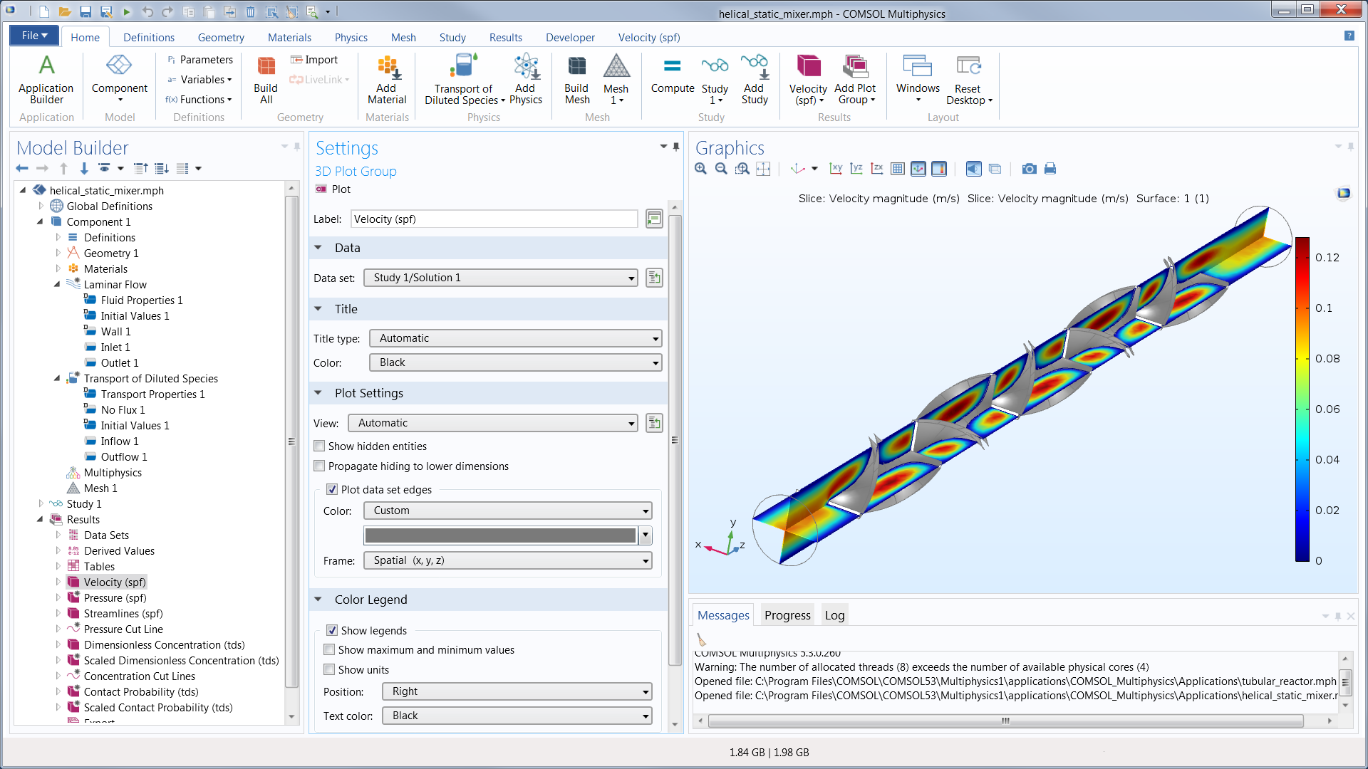 Comsol Multiphysics Software Understand Predict And Optimize Electronic Circuit Simulation Free Download An Example Of A Model Being Built Using The Builder In