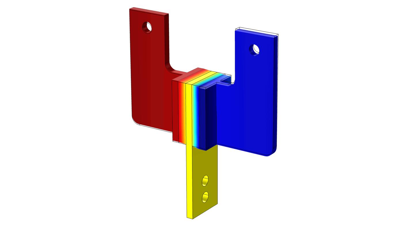 mechanische analysen mit dem structural mechanics module durchf hren. Black Bedroom Furniture Sets. Home Design Ideas