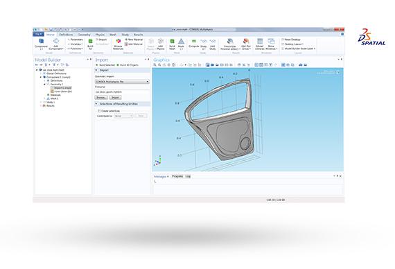 Import CATIA® V5 CAD Files into COMSOL Multiphysics®