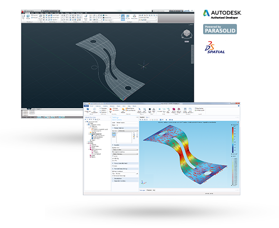 Combine AutoCAD® Designs with COMSOL Multiphysics®