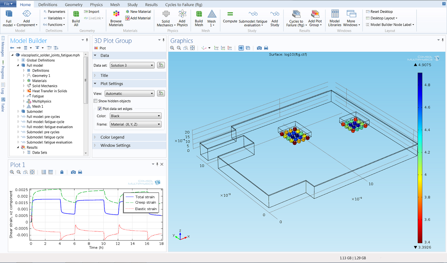 Comsol Version 50 Release Highlights Project Full On Transistor Fet Curve Tracer Parallax Forums View Screenshot