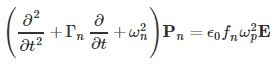 This equation will be solved together with the time-dependent wave equation for the magnetic vector potential.