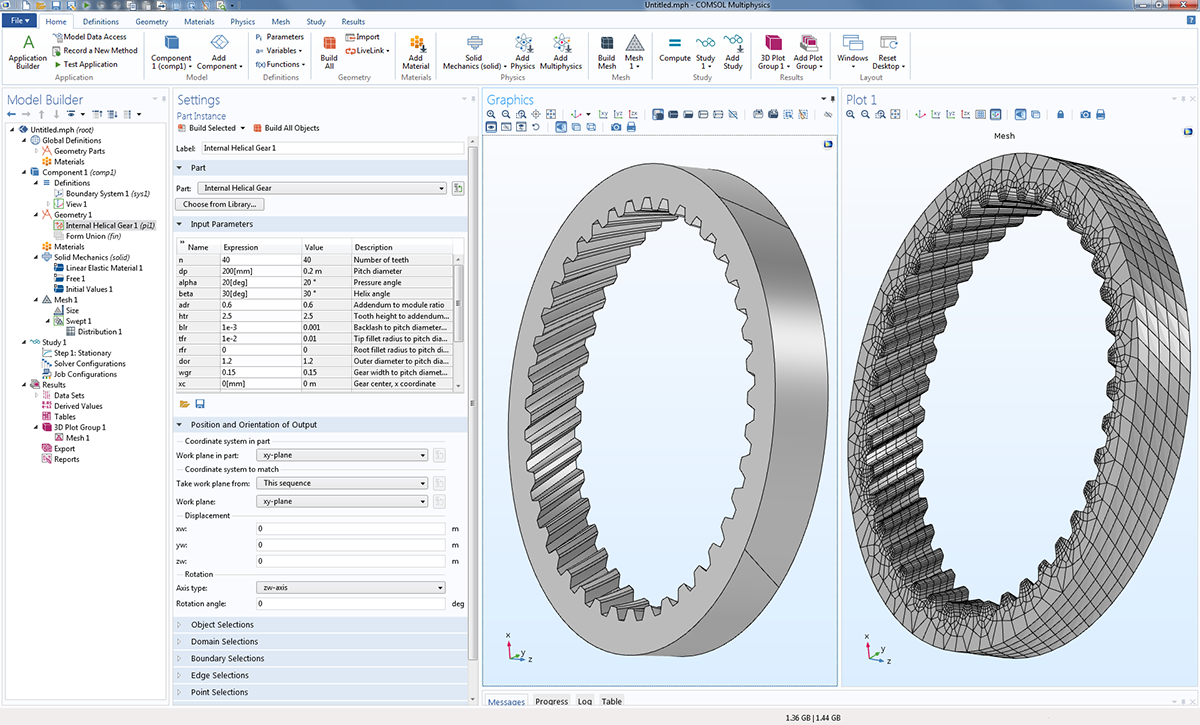 Multibody Dynamics Module - COMSOL® 5 2a Release Highlights