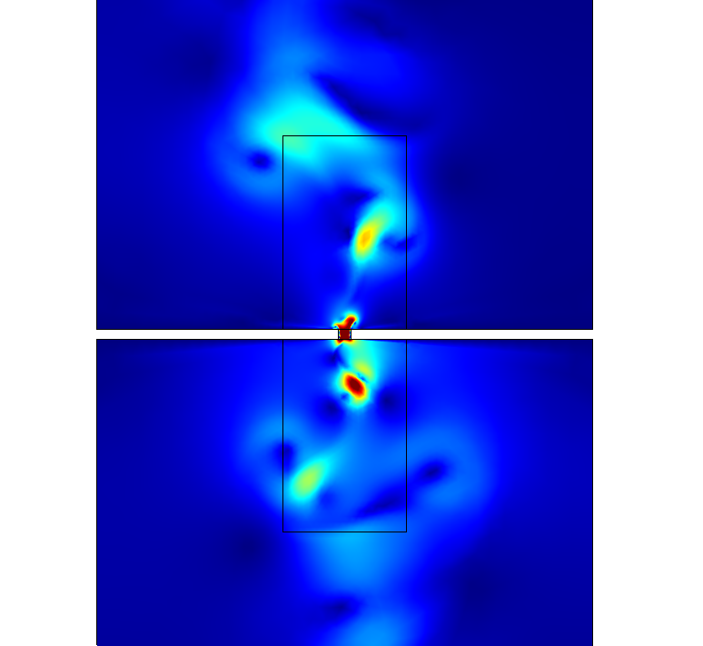 A tutorial model for coupling acoustics and CFD in COMSOL Multiphysics version 5.3.