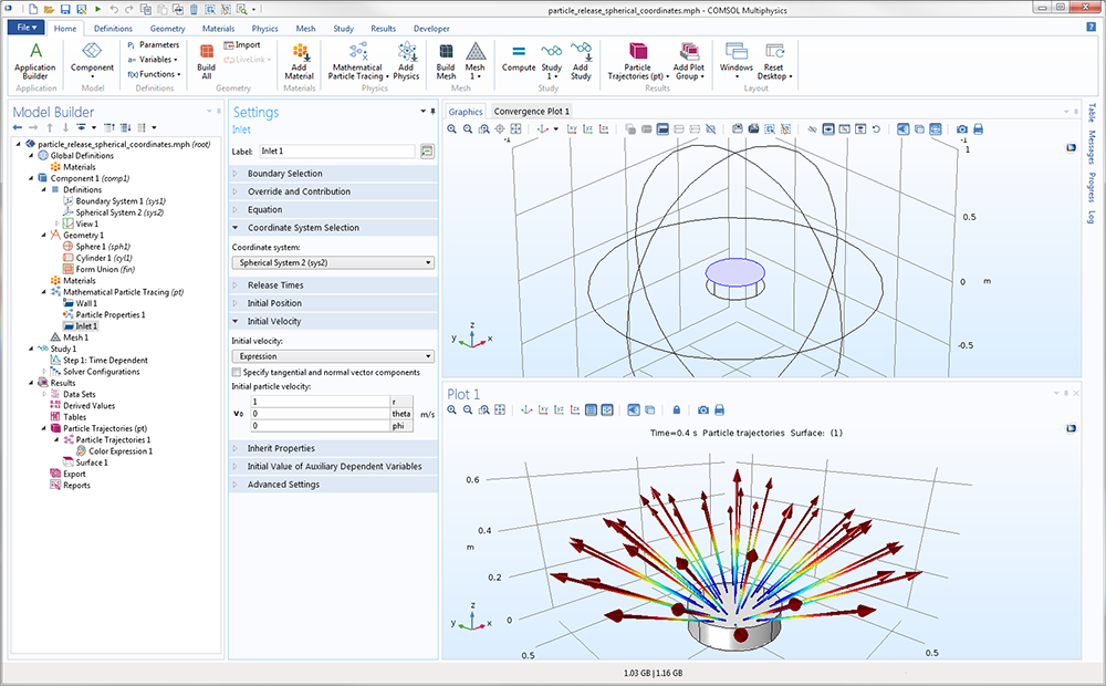 Particle Tracing Module Updates - COMSOL® 5 3 Release Highlights